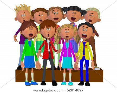 Children Singing, Children Chorus