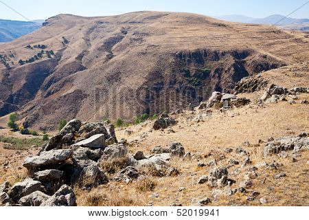 Zorats Karer - Megalithic Monument In Mountains