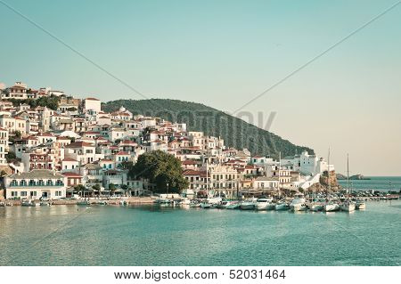 Skopelos Harbour