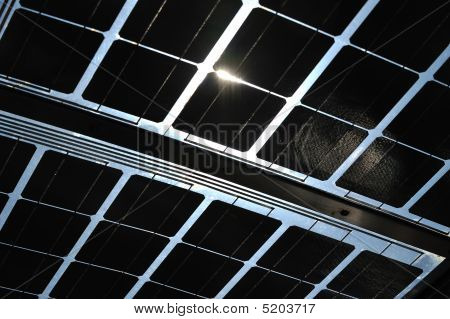 Photovoltaic Cells Underside