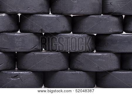 Wall Of Pucks