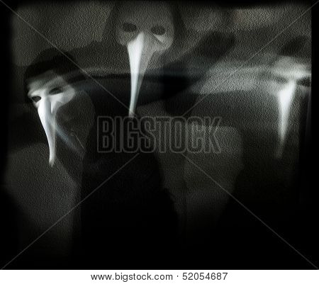 darkness and masks