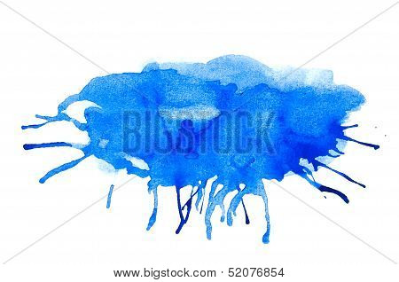 Blue Stain Paint