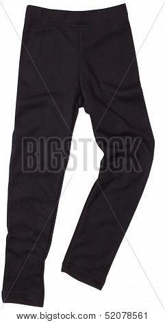 Sweatpants isolated on white background