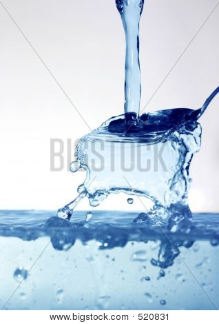 Water On Spoon