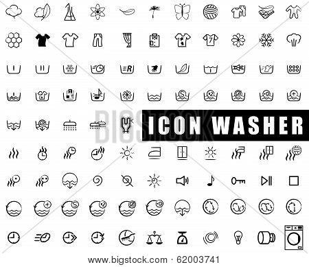 Icon washer