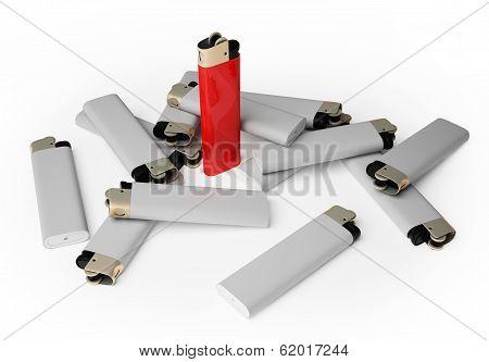 Group Cigarette Lighter