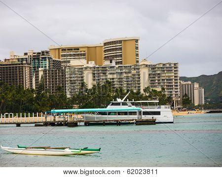 Boats in Hawaii