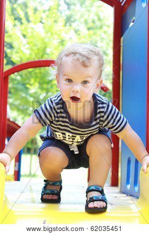 Child, Toddler Summer, Spring Playground