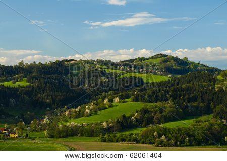 Higland Landscape Of Beskydy Mountains