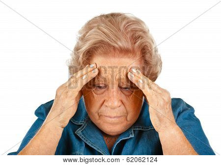 Elderly Woman With Headaches