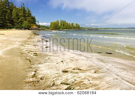 Long Beach in Pacific Rim National park, Vancouver Island, Canada