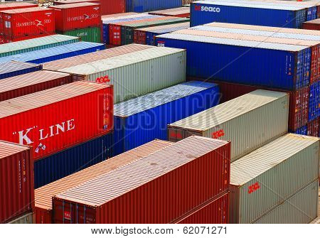 Container At Cargo Depot, Viet Nam