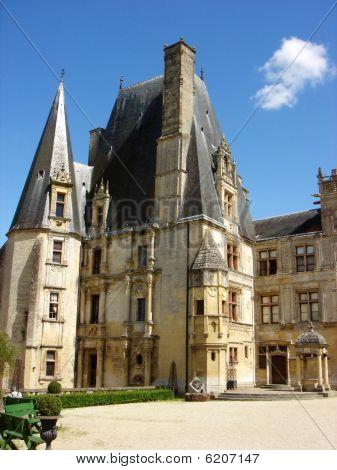 Altfranzösisch castle