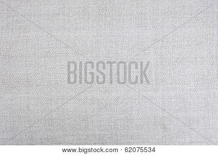 Vintage homespun handwoven linen fabric as background or texture