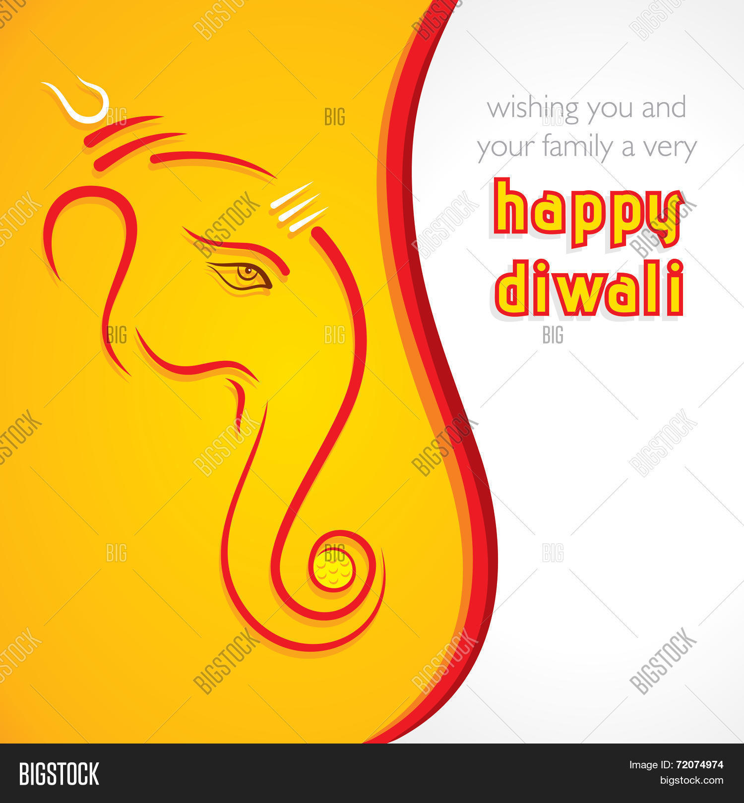Creative Happy Diwali Vector Photo Free Trial Bigstock
