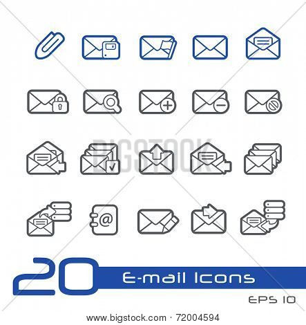 E-mail Icons // Line Series