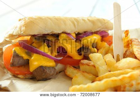 Philly Cheese Sandwich