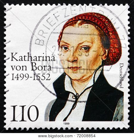 Postage Stamp Germany 1999 Katharina Von Bora