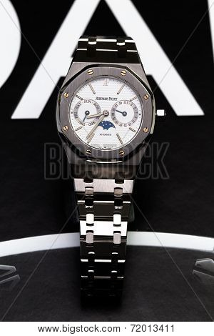 Bangkok, Thailand - September 8, 2014: Photo Of The Collectible Discontinued Watch Series From Audem