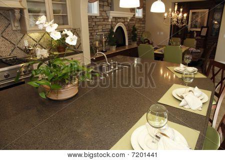 Granite Kitchen island