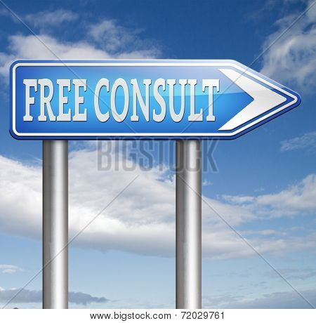 free consult with support desk or help desk with gratis consultation and customer support. second opinion
