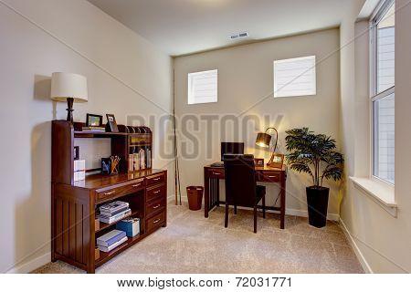 Beautiful Office Room Interior