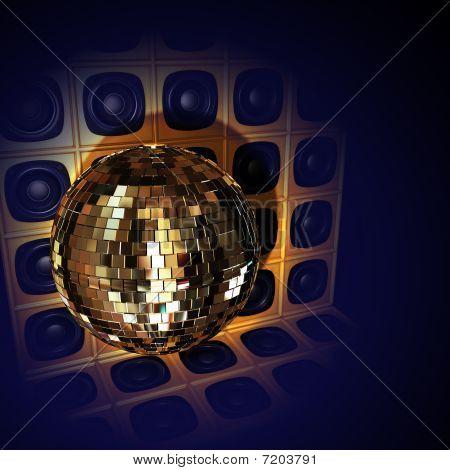 Disco loud