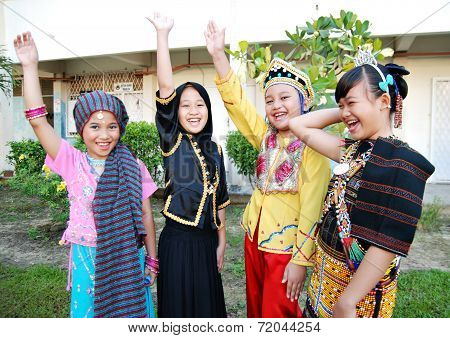 Happy Children of Malaysia