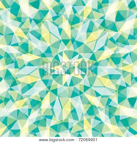 abstract geometric shape pattern background vector