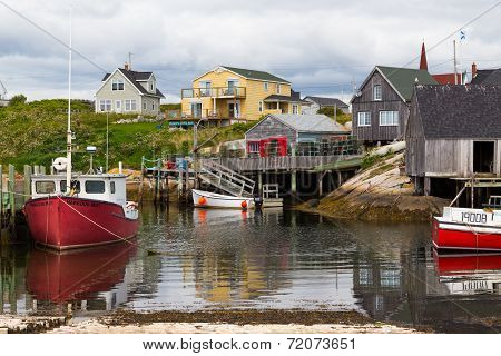 Fishermans Hut Peggys Cove