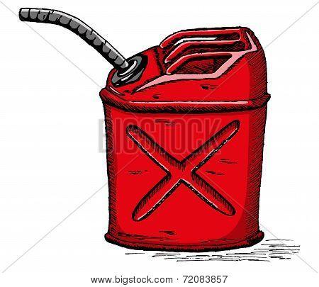 Vector gas can