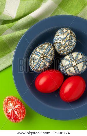 Easter Eggs Still-life