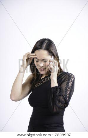 Woman Receiving Bad News
