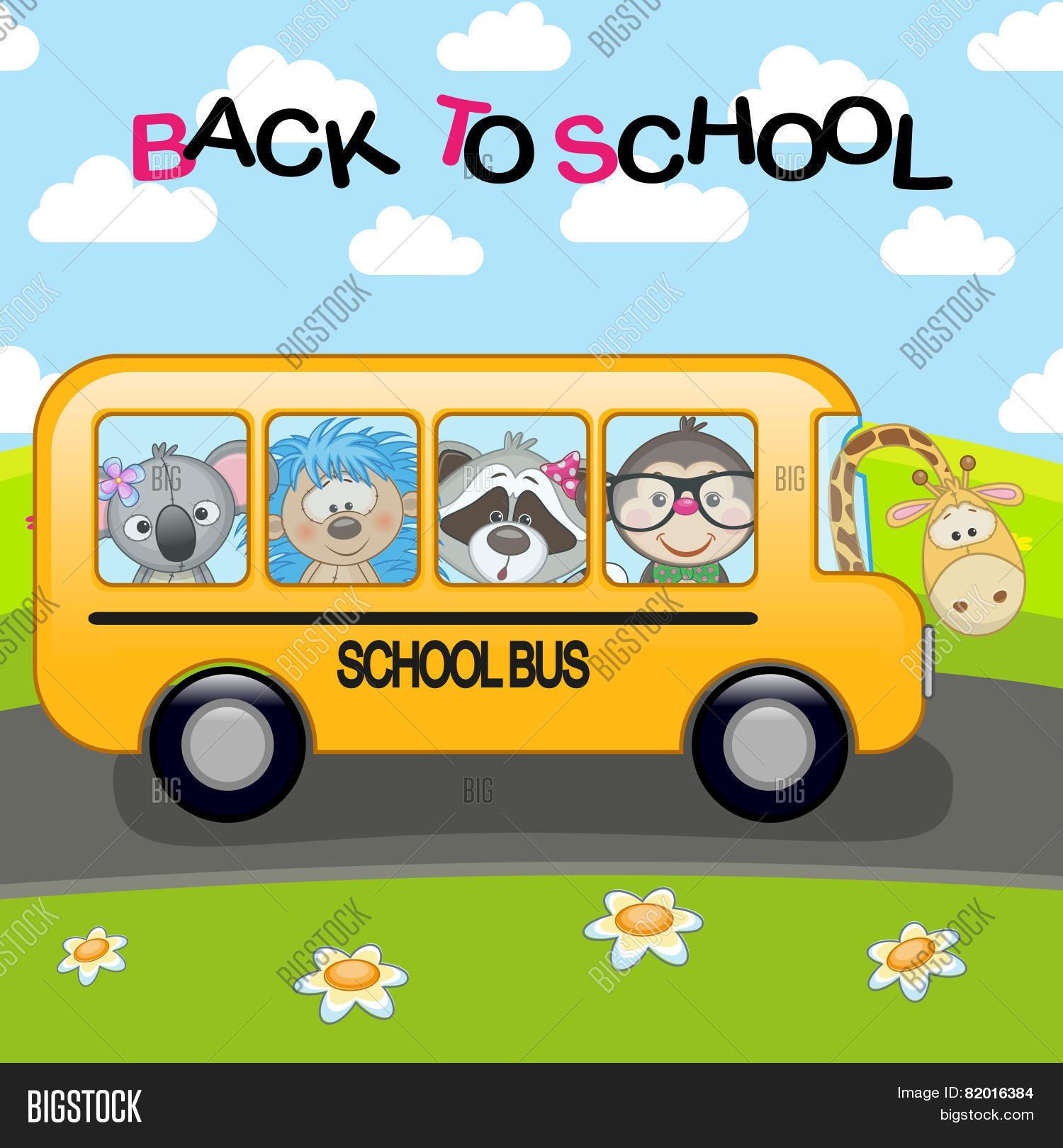 School Bus Vector Photo Free Trial Bigstock
