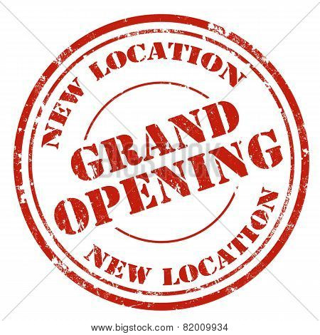 Grand Opening-stamp