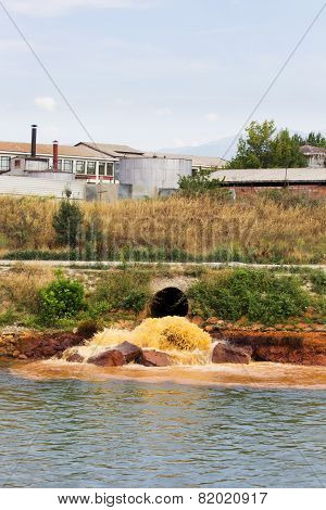 Polluted River