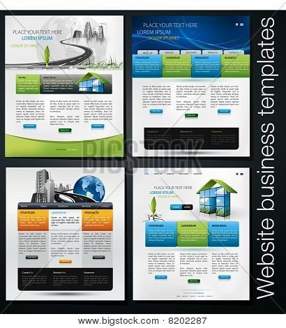 exclusive website business templates,