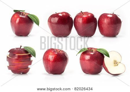 composite with red apples
