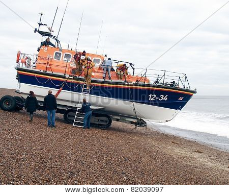 Launching a Lifeboat
