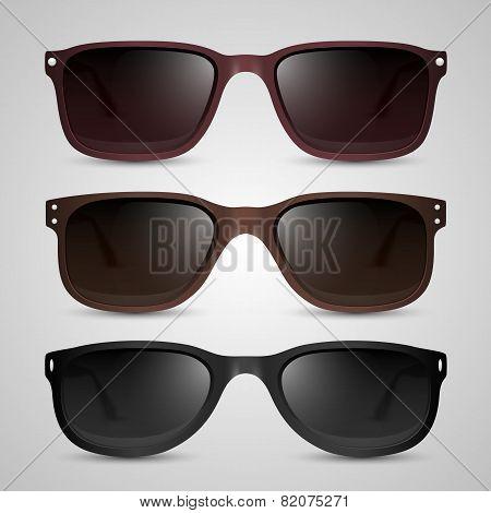Sunglasses. Vector