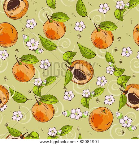 Apricot pattern