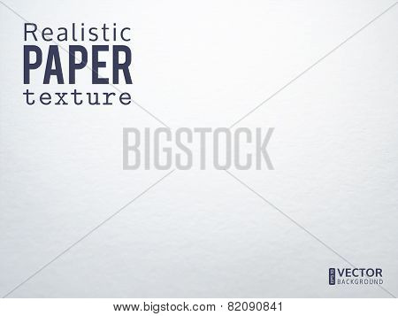 Realistic paper texture