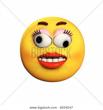 Crazy Cartoon Face
