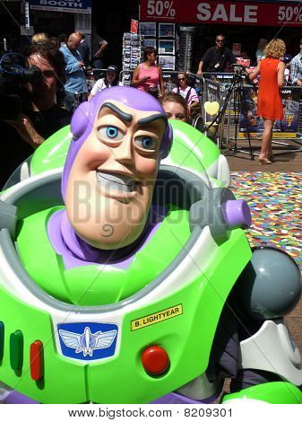 Buzz Lightyear At Toy Story 3 Premiere In Central London 18Th July 2010