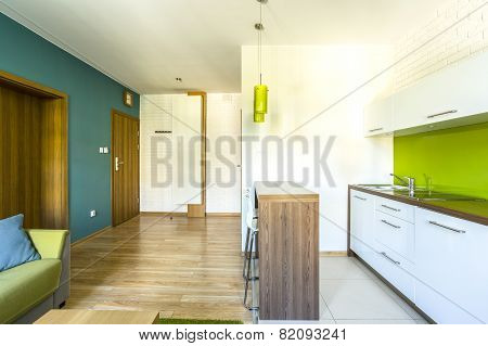 Spacious Hotel Room With Kitchenette