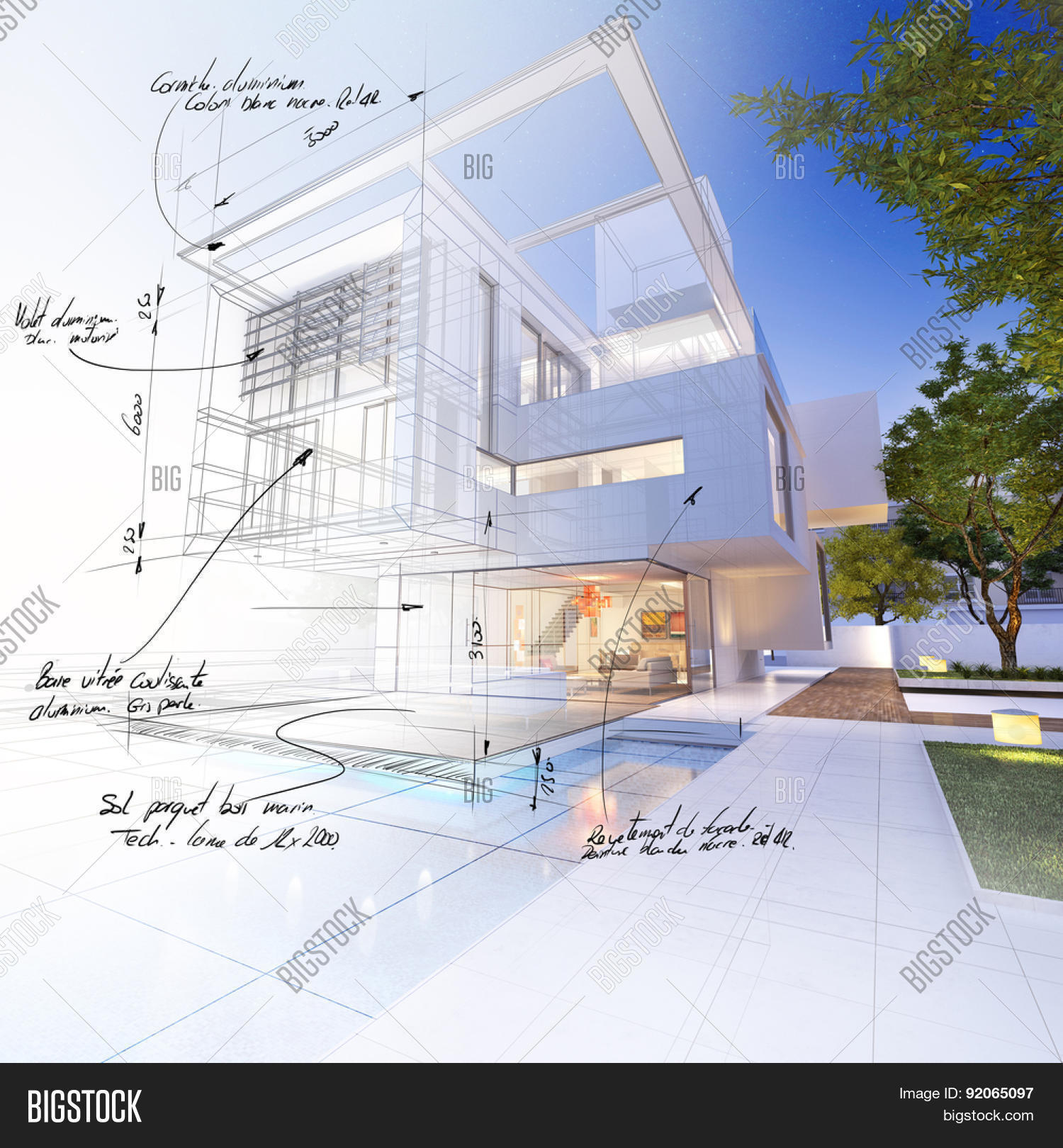 3D Rendering Luxurious Image & Photo (Free Trial)   Bigstock
