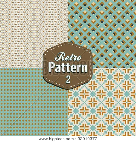 set retro patterns