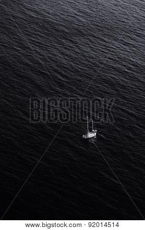 Dark Black sea