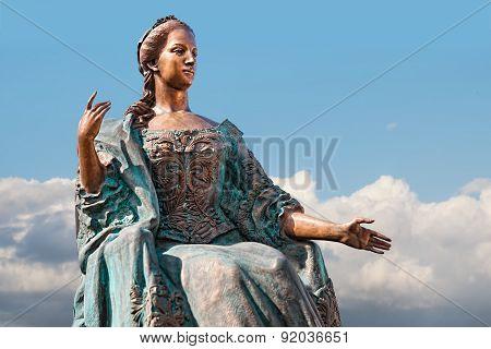 Statue Of Empress Maria